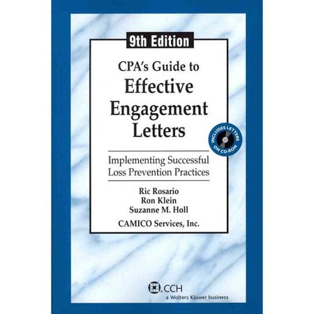 Cpa39s guide to effective engagement letters walmartcom for Cpa review engagement letter