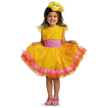 SESAME ST BIG BIRD FRILLY 2T - Seasame Street Costumes