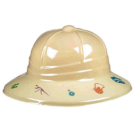 Prehistoric Dinosaurs Pith Helmet - Dinosaur Hat