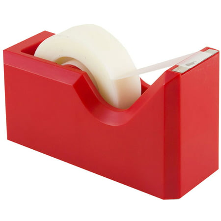 JAM Paper Colorful Tape Dispensers, 4 1/2 x 2 1/2 x 1 3/4 ...