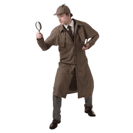 6ecb6f21d4832 Adult Sherlock Holmes Costume - image 1 of 1 ...