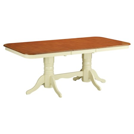 east west furniture kenley 60 78 inch rectangular dining table with