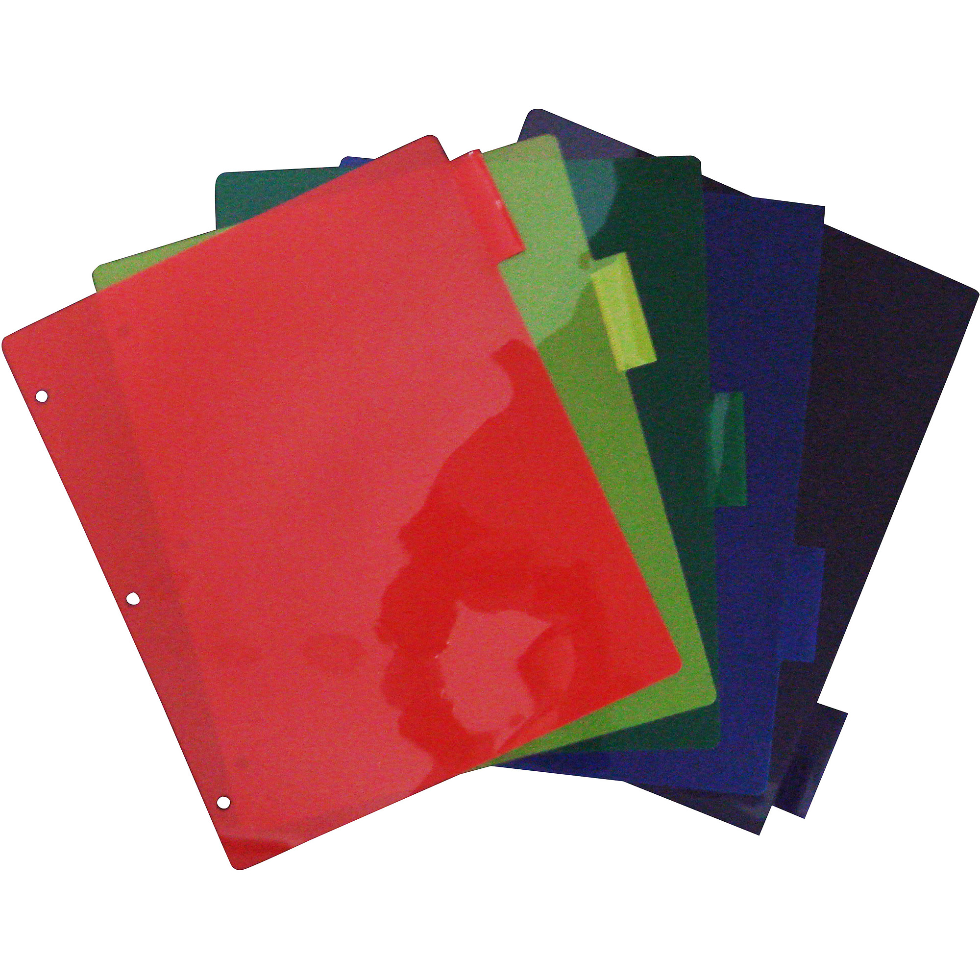 Unison 5 Tab Poly Index Dividers