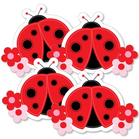 Modern Ladybug - Decorations DIY Baby Shower or Birthday Party Essentials - Set of 20 - Party City Ladybug