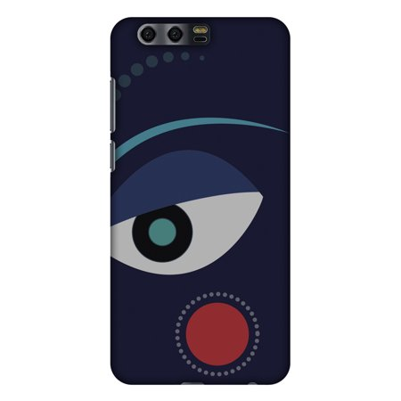 Huawei Honor 9 Case, Premium Handcrafted Designer Hard Shell Snap On Case Printed Back Cover with Screen Cleaning Kit for Huawei Honor 9, Slim, Protective - Divine Goddess - Blue - Goddess Blue