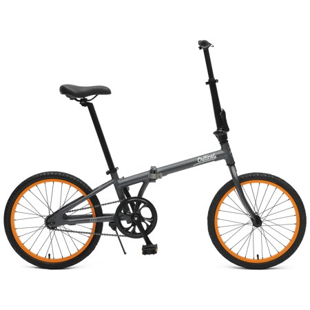 Critical Cycles Judd Single Speed Folding Bike with Coaster Brake (Base UPC 0081572502359), Color Matte Graphite