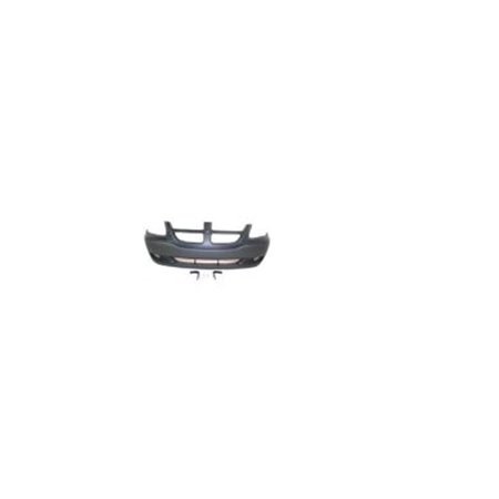 Dodge Caravan Front Bumper Cover (Replacement Top Deal Front Dark Gray Bumper Cover For 01-04 Dodge Grand)