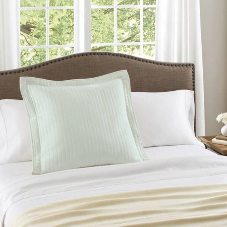 Better Homes & Gardens Cotton Aqua Inlet Euro Sham ()