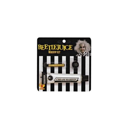Beetlejuice Makeup Kit Adult Halloween Costume Accessory - Halloween Tiger Face Makeup