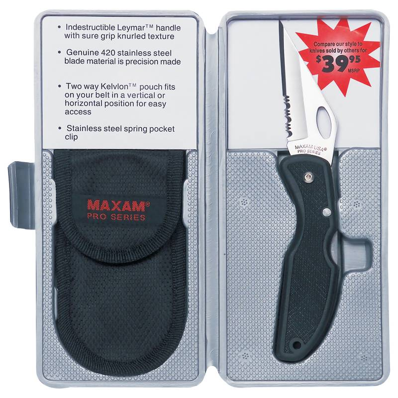Maxam® Lockback Knife