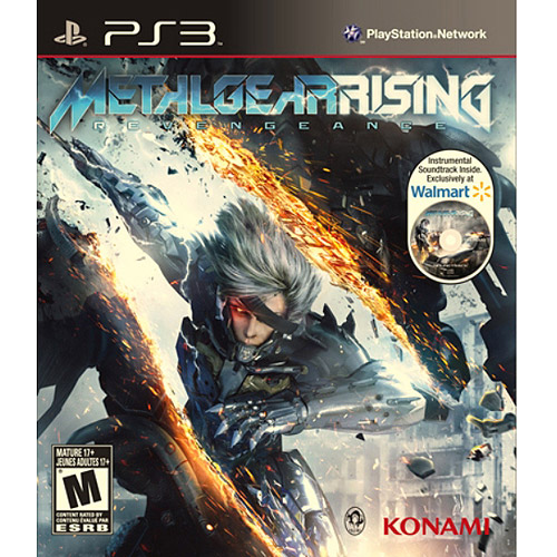 Metal Gear Rising: Revengeance - Wal-Mart Exclusive Instrumental Soundtrack (PS3)