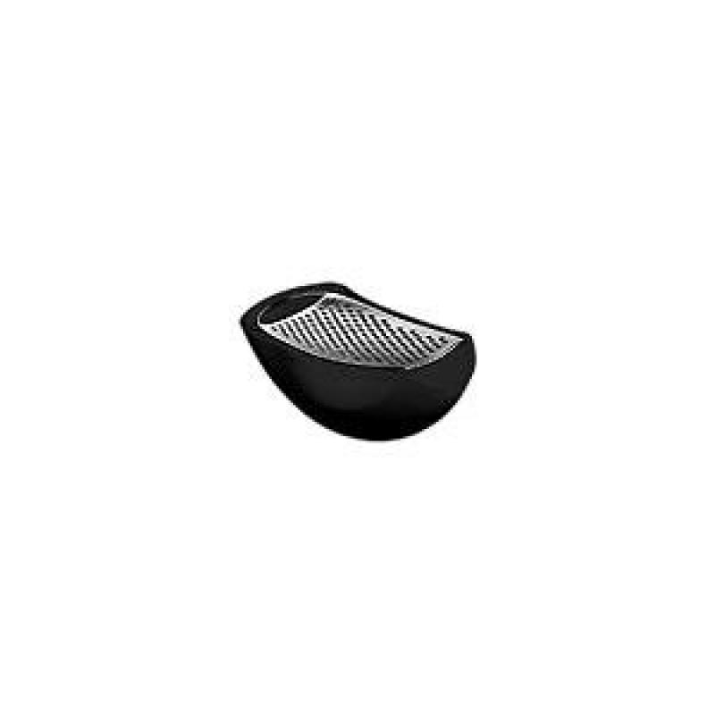 Alessi Parmenide Cheese Grater Black by