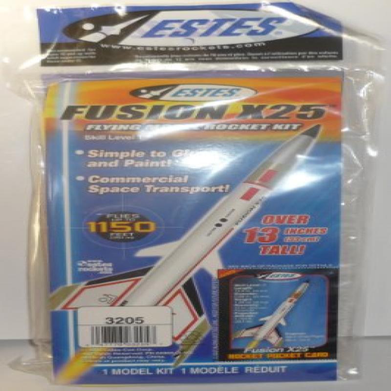 Estes Fusion X25 Model Rocket Kit by