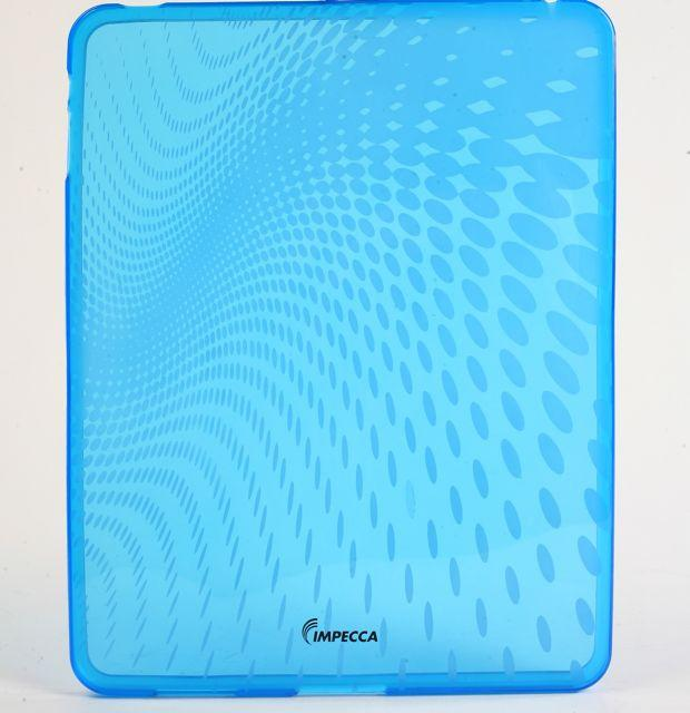 Impecca IPS120B Wave Pattern Flexible Tpu Protective Skin For Ipad - Blue