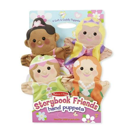 Melissa & Doug Storybook Friends Hand Puppets ()