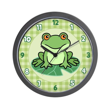 Frog Prince Clock (CafePress - Frog - Unique Decorative 10