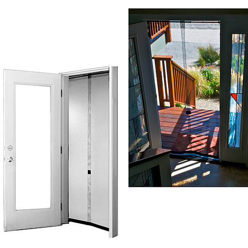 "Bug Off Instant Screen Door with Bug Off Instant Screen, 36"" x 80"