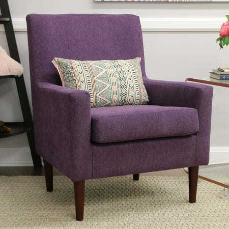 Emma Lounge Chair - Eggplant