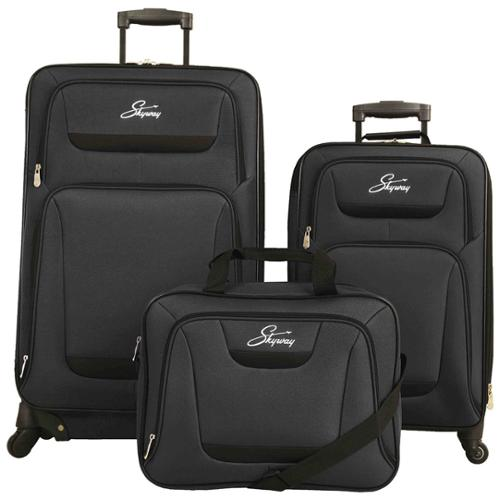 Skyway Luggage Skyway Glacier Peak 3-piece Expandable Spinner Luggage Set