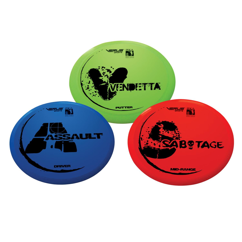 Expert Disc Golf Set by Verus Sports Inc