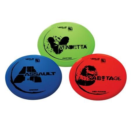 Verus Sports Expert Disc Golf Set