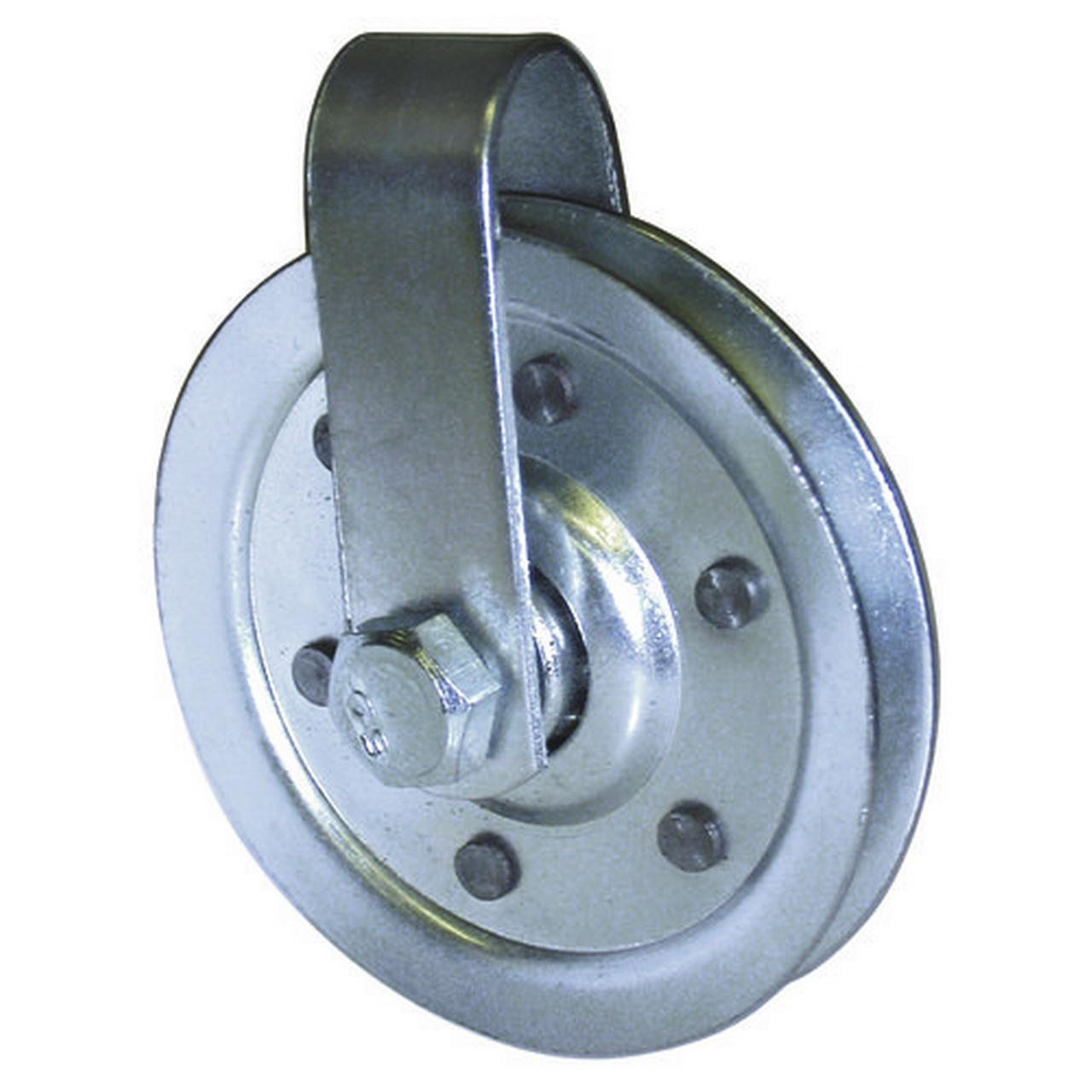 "3"" Pulley with Fork and Bolt"