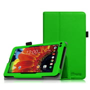 """Fintie PU Leather Case Folio Cover for RCA 7"""" Voyager III / Voyager II / Voyager Pro Tablet, Green"""