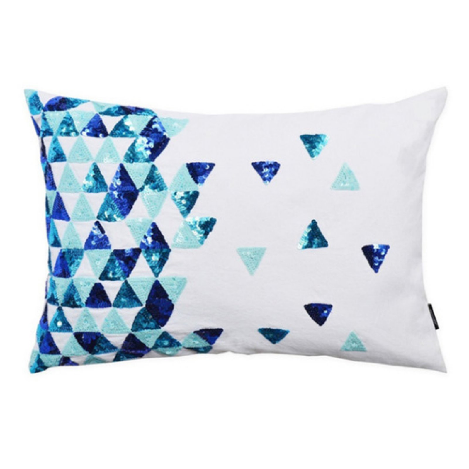 Image of A1 Home Collections Broken Triangle Limited Edition Decorative Throw Pillow