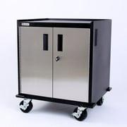Geneva Stainless Steel 2 Door Base Cabinet