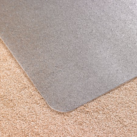 Computex® Anti-Static Vinyl Lipped Chair Mat for Carpets up to 3/8