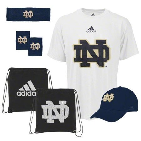 - Notre Dame Fighting Irish adidas Pick-Up Game 5-PC Combo Pack