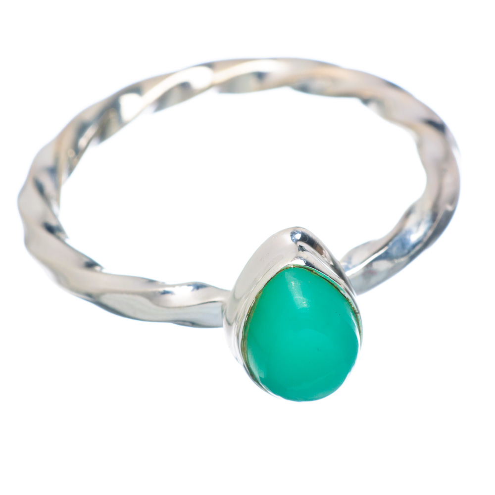 Ana Silver Co Chrysoprase Ring Size 9.5 (925 Sterling Silver) Handmade Jewelry RING855538 by Ana Silver Co.
