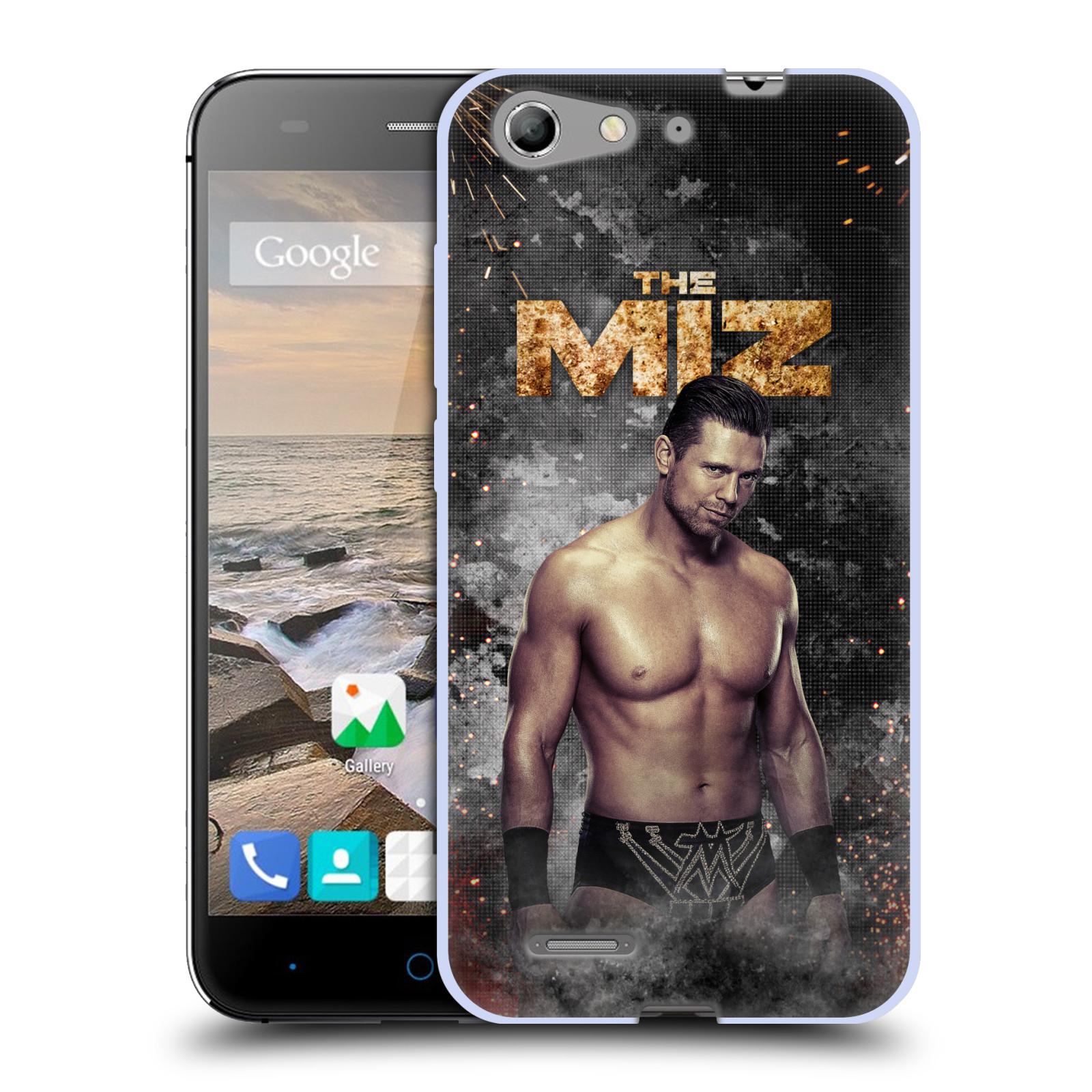 OFFICIAL WWE THE MIZ SOFT GEL CASE FOR ZTE PHONES