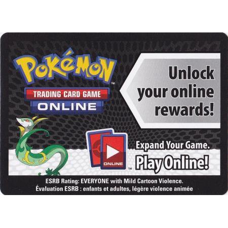 Pokemon Single Card Promo Promo Code Card for Pokemon TCG Online [Serperior Tin]](Halloween Spirit Promo Code)