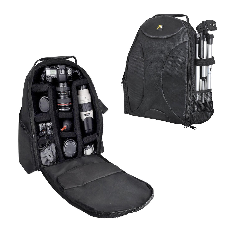 Alta DSLR Digital Camera Bag Padded Devider Backpack with Tripod Strap