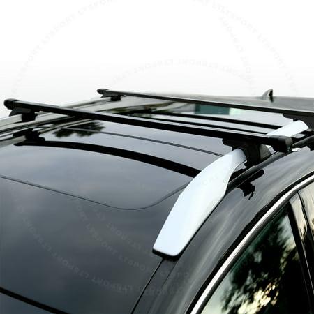 lt sport brand fit 03 12 honda pilot heavy duty roof rack 53 top cross bars carrier free. Black Bedroom Furniture Sets. Home Design Ideas