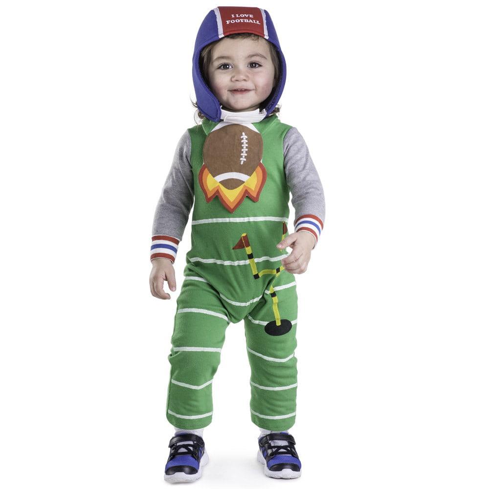 Football baby costume think