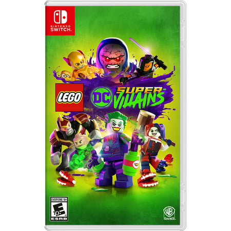LEGO DC Super-Villains, Warner Bros., Nintendo Switch, 883929648269