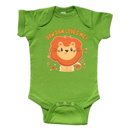 Paw Paw Loves Me- cute lion Infant Creeper](Paw Me)