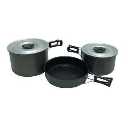 Chinook Non-Stick Ridge Hard Anodized Cookset, X-Large