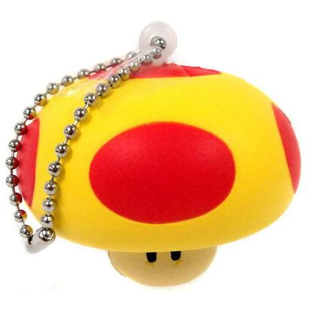 Super Mario Mega Mushroom Keychain [Foam]