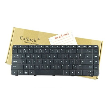 - eathtek replacement keyboard for hp pavilion g4 g6 g4-1000 series black us layout, compatible with part# 636191-001 640892-001 633183-001