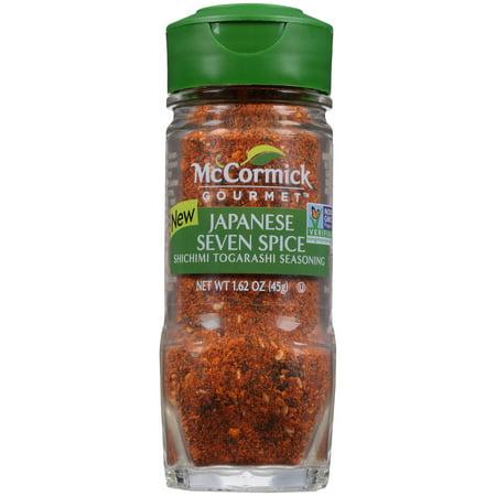 McCormick Gourmet Japanese 7 Spice Seasoning, 1.62 oz Spice Islands Gourmet Spices