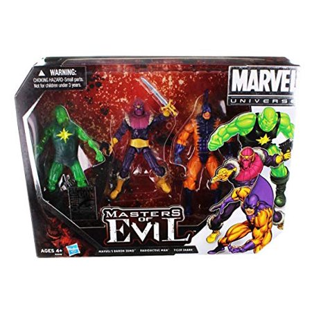 Hasbro SDCC 2012 Comic CON Exclusive Box Set Master of Evil Marvel Universe Nib - image 1 of 1