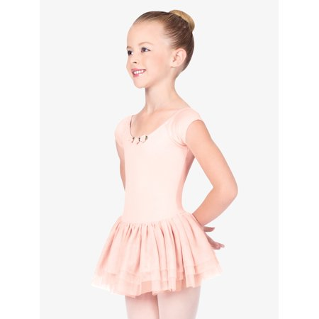 Child Short Sleeve Dance Dress - Dance Dresses For Tweens
