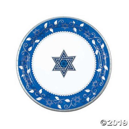 Passover Paper Plates (Joyous Holiday Passover Paper Dinner)