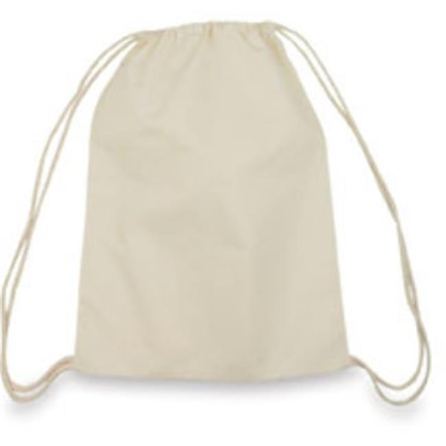 DDI 788885 5 oz Cotton Drawstring Backpack - Natural Case Of 192