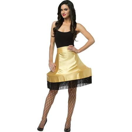 Christmas Story Leg Lamp Skirt Adult Halloween Costume (Homemade Christmas Story Halloween Costumes)