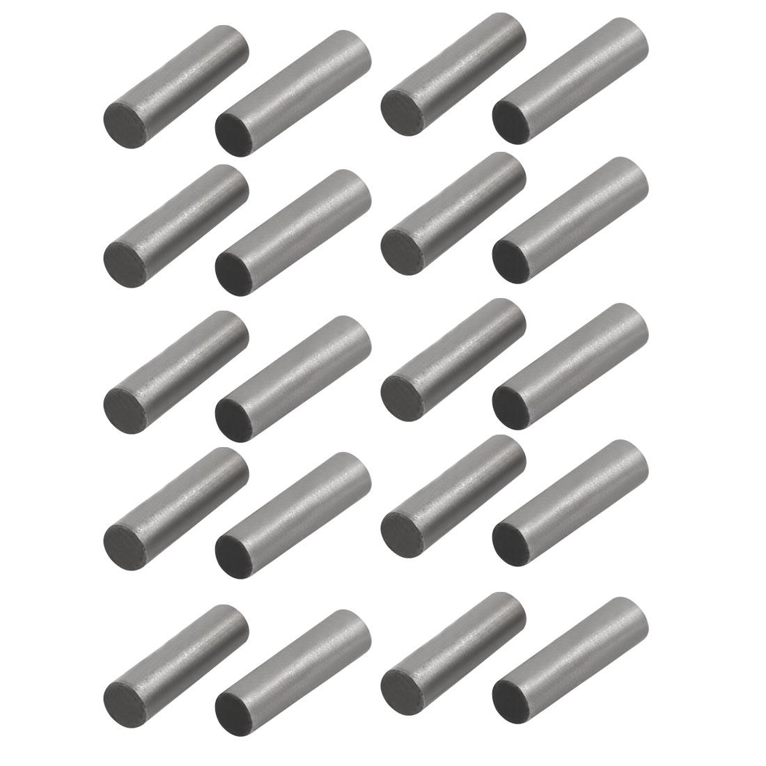 Unique Bargains Carbon Steel GB117 12mm Length 3mm Small End Diameter Taper Pin 20pcs - image 2 de 2