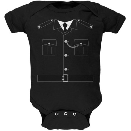 Baby Police Costume (Halloween British Bobby Copper Police Costume Soft Baby One)